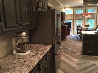 kitchen remodel in Athens, AL